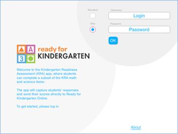 KRA App : Kindergarten Readiness Assessment - PD Content